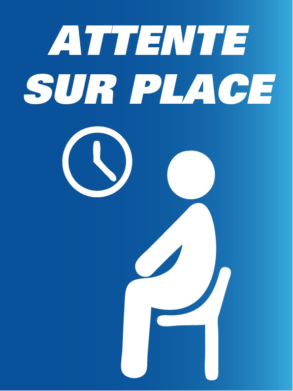 1. Attente sur place 1 - Mesures de prévention - COVID-19